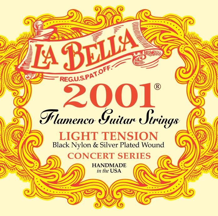 Corde La Bella Flamenco 2001 Light Tension 2001