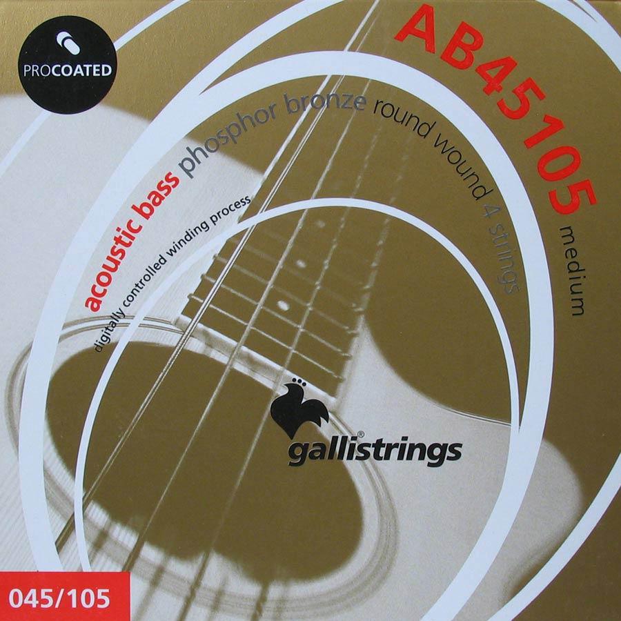 Corde Galli per basso acustico .045 – .105 AB45105
