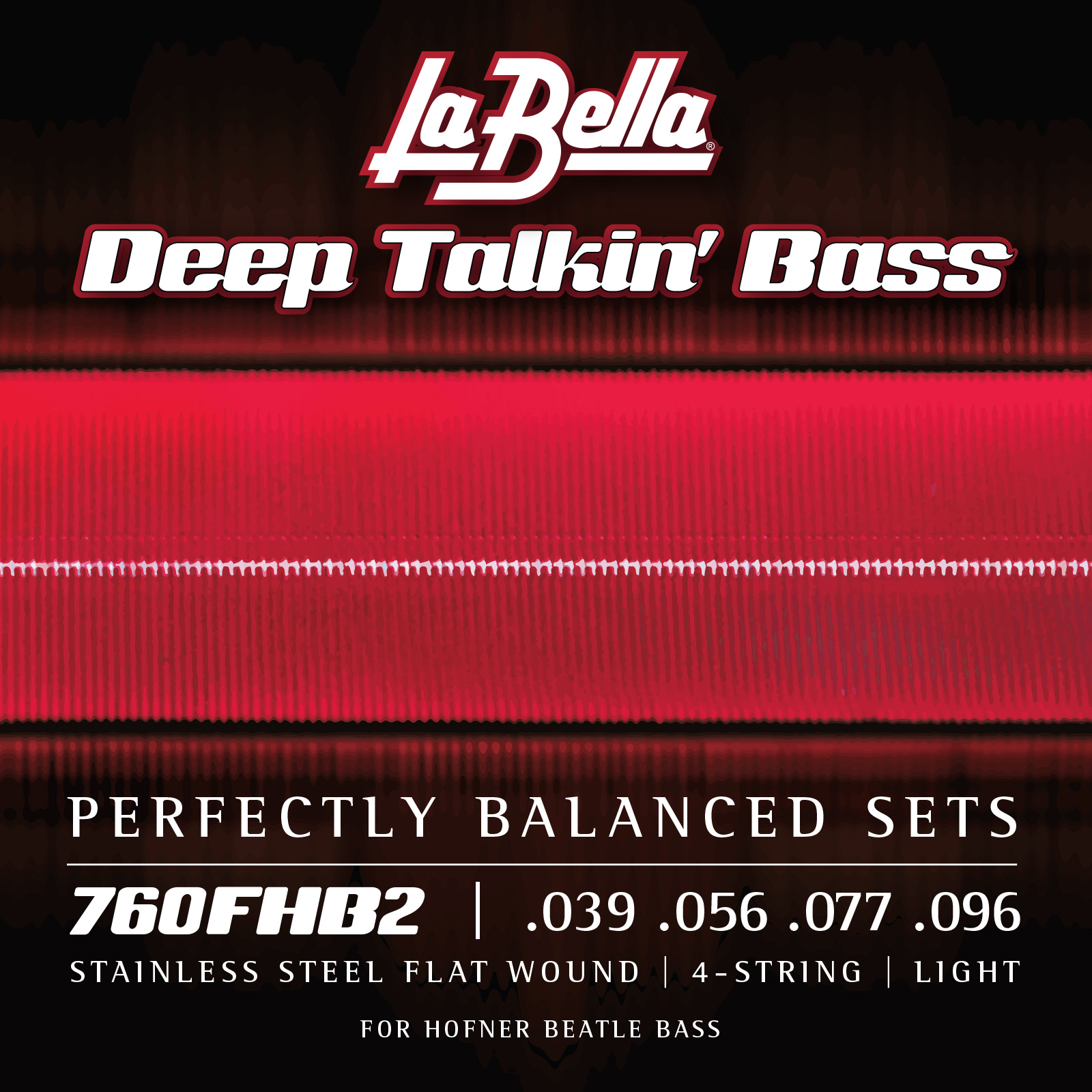 Corde lisce La Bella Deep Talkin' Bass .039 – .096 760FHB2