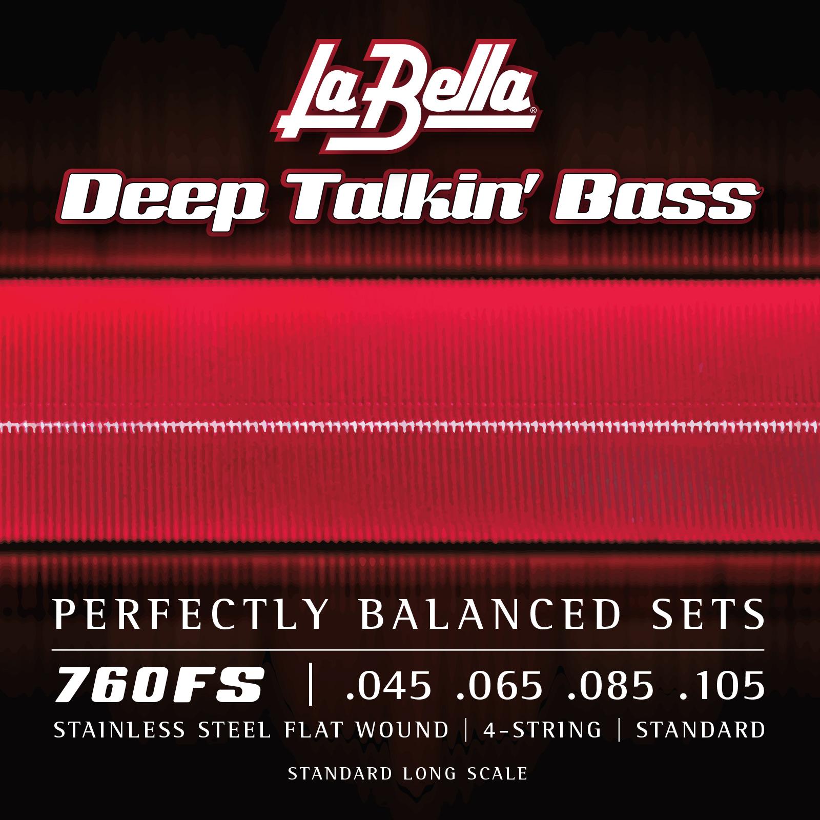 Corde lisce La Bella Deep Talkin' Bass .045 – .105 760FS