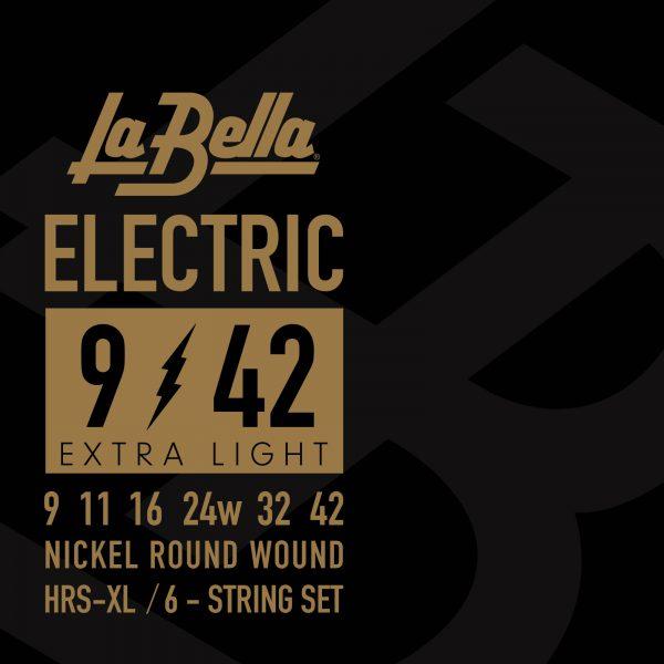 Corde La Bella HRS-XL .009 – .042 HRS-XL